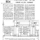 McMichael 471U Vintage Valve Service Sheets Schematics Set