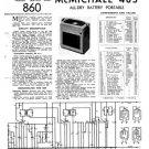 McMichael 483 Vintage Valve Service Sheets Schematics Set