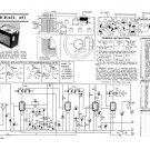 McMichael 493 Vintage Valve Service Sheets Schematics Set