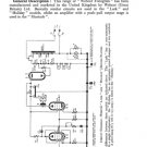 Webcor Holiday RP Service Sheets Schematic Set