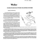 Weller EC3000 (EC-3000) SOLDER Instructions Schematics Operating Guide etc