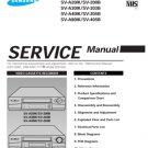 Samsung SV-205B Video Recorder Service Manual
