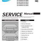 Samsung SV-205X Video Recorder Service Manual
