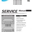 Samsung SV-A80IK Video Recorder Service Manual