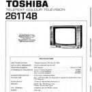 Toshiba 261T4B Television Service Manual