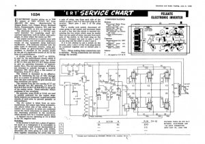 Felgate Inverter Service Sheets Schematics Set