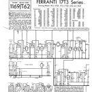 Ferranti 17T3F Television Service Sheets Schematics Set