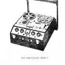 Ferrograph 4SH CON Tape Recorder Service Manual