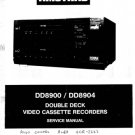 Fidelity DD8904 (DD-8904) Double Deck Video Recorder Service Manual