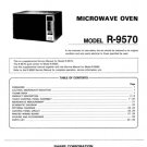 Sharp R240C (R-240C) Microwave Oven Service Manual