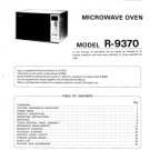 Sharp R290H (R-290H) (S) Microwave Oven Service Manual