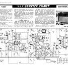 Ekco ARG334 (ARG-334) Radiogram Service Sheets Schematics etc