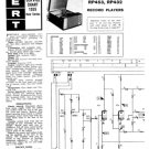 Ekco RP453 (RP-453) Record Player Service Sheets Schematics etc
