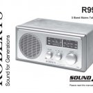 Roberts R9944 (R-9944) Analogue Radio Operating Guide User Instructions