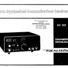 Radio Shack DX302 (DX-302) Operating Guide
