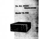 Kenwood TS700 (TS-700) Transceiver Operating Guide