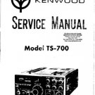 Kenwood TS700 (TS-700) Transceiver Service Manual