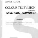 Toshiba 56WH08B Television Service Manual with Schematics
