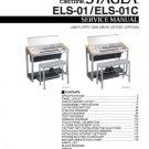 Yamaha ELS01 (ELS-01) Keyboard Service Manual with Schematics