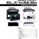 Yamaha ELX1m (ELX-1m) Keyboard Service Manual with Schematics