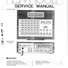 Yamaha EM100 II (EM-100 II) Mixer Service Manual with Schematics