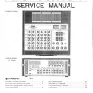 Yamaha EM150 II (EM-150 II) Mixer Service Manual with Schematics