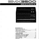 Yamaha EMX3500 (EMX-3500) Mixer Service Manual with Schematics