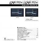 Yamaha EMX512sc (EMX-512sc) Mixer Service Manual with Schematics