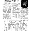 Marconi 562 Vintage Wireless Service Sheets Schematics etc