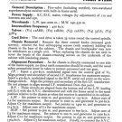 Masteradio D120A (D-120A) Service Manual