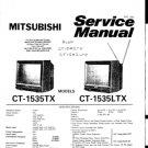 Mitsubishi CT1535TX (CT-1535TX) Service Manual