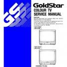 Goldstar CKT2190 (CKT-2190) X Technical Repair Schematics Circuits Service Manual