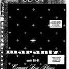 Marantz CD94 (CD-94) CD Player Service Manual Repair Schematics Circuits