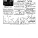 Ever Ready 5002 Superhet Three Service Sheets Schematics Circuits etc