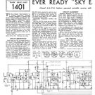 Ever Ready Sky Emperor Service Sheets Schematics Circuits etc