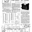Ever Ready Sky Leader Service Sheets Schematics Circuits etc