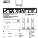 Philips 14AA3527 00B 01B 05B 16B Technical Repair Schematics Circuits Service Manual