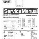 Philips 17AB3546 00B 01B 13B Technical Repair Schematics Circuits Service Manual