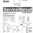 Philips 17PT161A 05 Technical Repair Schematics Circuits Service Manual