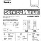 Philips 21AA3557 00B 01B 05B 13B 42B Technical Repair Schematics Circuits Service Manual