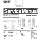 Philips 21AB3357 01B Technical Repair Schematics Circuits Service Manual