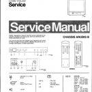 Philips 21AB3556 00B 01B 05B 13B Technical Repair Schematics Circuits Service Manual