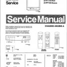 Philips 21PT161A 00 05 Technical Repair Schematics Circuits Service Manual