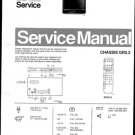 Philips 21ST2430 02B 05B 08B 10B 12B 13B Technical Repair Schematics Circuits Service Manual