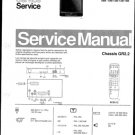 Philips 21ST2636 19B Technical Repair Schematics Circuits Service Manual