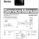 Philips 21ST2731 02B 05B 07B 08B 10B 12B 13B 16B Technical Repair Schematics Circuits Service Manual