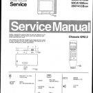 Philips 255741CB 39R Technical Repair Schematics Circuits Service Manual