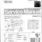 Philips 256597WQ 19M Technical Repair Schematics Circuits Service Manual