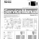 Philips 25ML8966 00B 02B 06B 07B 08B 10B 13B 16B 19B Technical Repair Schematics Circuits Service Ma