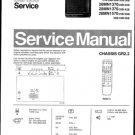 Philips 25MN1550 22B 25B 27B 28B 30B 33B 36B Technical Repair Schematics Circuits Service Manual